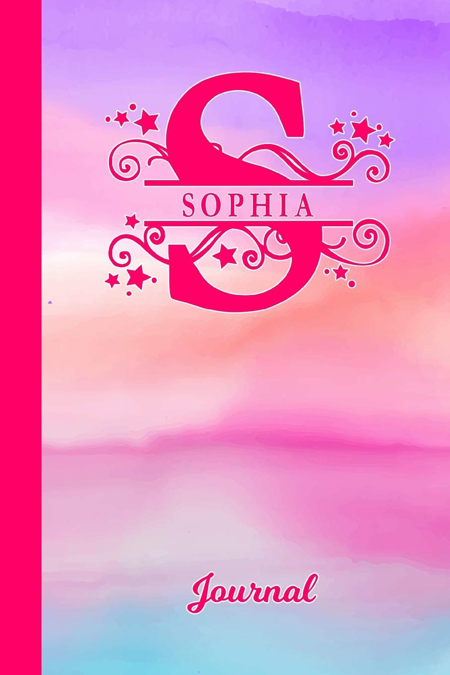 Sophia Journal: Letter S Personalized First Name Diary & Writing
