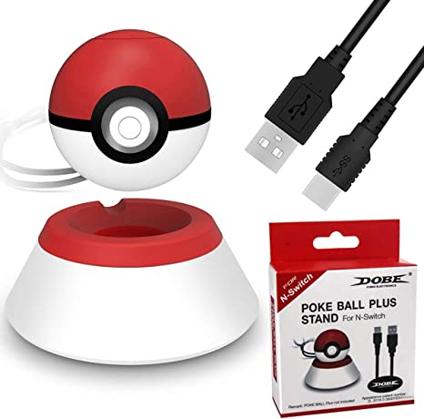 Charger Stand Compatible for 2019 Nintendo Switch Pokeball Plus ...