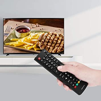 Kafuty Mando a Distancia inalámbrico para TV Control Remoto Inteligente para LG AKB74915324 Televisión Adopte Material ABS y con Control Remoto de más de 8 m, etc.: Amazon.es: Electrónica
