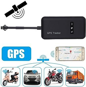 GPS Tracker,STRIR Localizador de Vehículo de Seguimiento en Tiempo Real GPS Locator para Coche, Moto, gsm, SMS, GPS, GPRS, App, Llaves Antirrobo: Amazon.es: Electrónica