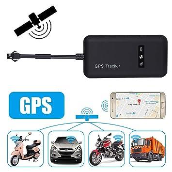 GPS Tracker,STRIR Localizador de Vehículo de Seguimiento en Tiempo Real GPS Locator para Coche