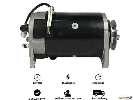 12v starter generator john deere gator turf 9 5hp yamaha pro hauler  700/1000 yxp700a