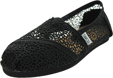 TOMS Women's Classics Crochet Shoe
