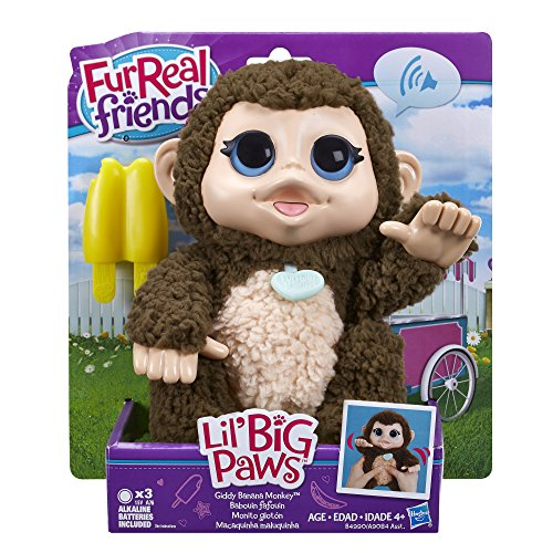 Buy furreal friends lil' big paws giddy banana monkey