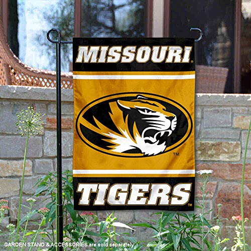 (College Flags and Banners Co. Missouri Mizzou Tigers Garden Flag )