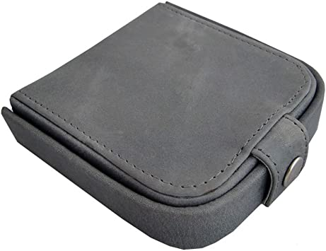 STEFANO Geldbörse Geldbeutel  Börse unisex Aussenriegel schwarz  9,5 x 13,5 cm