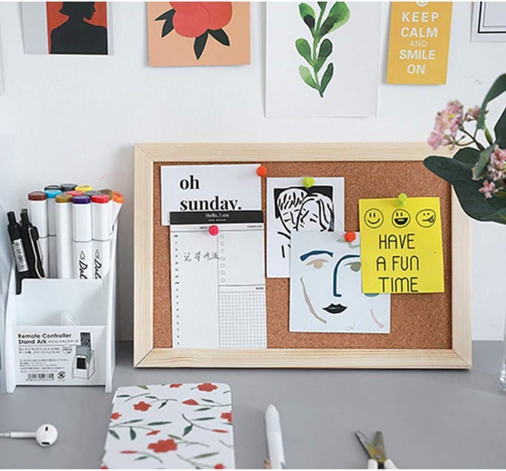 2 piezas Tablero de corcho,ablones de anuncios de corcho oficina Pin Bullentin Board con 18 pasadores y cuerda Tablero de anuncios de corcho para hogares u oficinas clavijas para tablero de mensajes