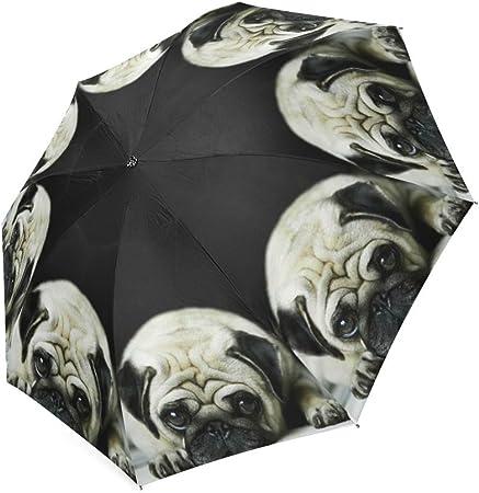 Coolstuffs Black Cats Pattern Foldable Umbrella Travel Umbrellas for Women