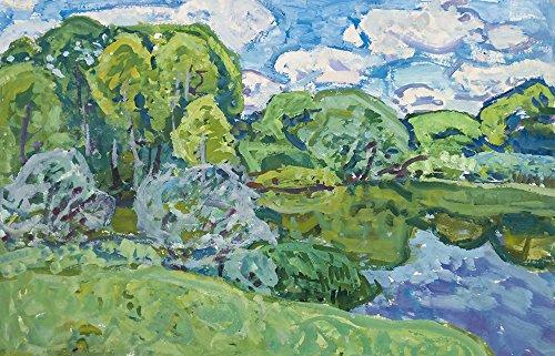 Landscape, Countryside Lake