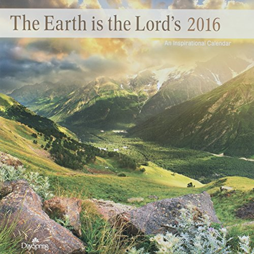"DaySpring 12"" x 12"" 2016 12-Month Wall Calendar, Lord's Earth (73448)"