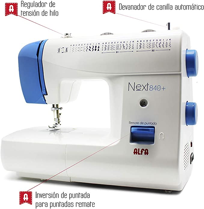 Alfa NEXT840 - Máquina de Coser (Máquina de Coser semiautomática ...
