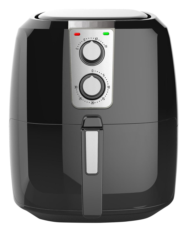 Chef Di Cucina CC500M Air Fryer, 5.5 L, Black