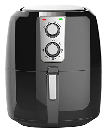 amazon.com: chef di cucina cc500m air fryer, 5.5 l, black: kitchen ... - Chef In Cucina