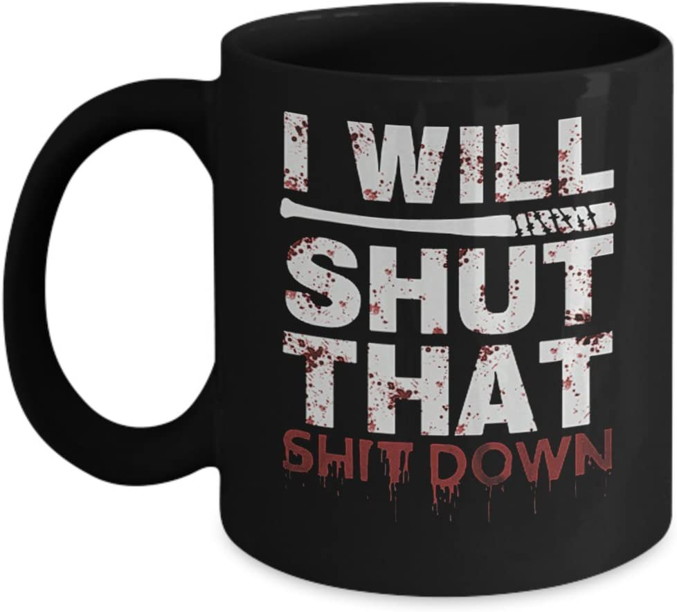 Negan Walking Dead Mug Walking Dead Coffee Mug