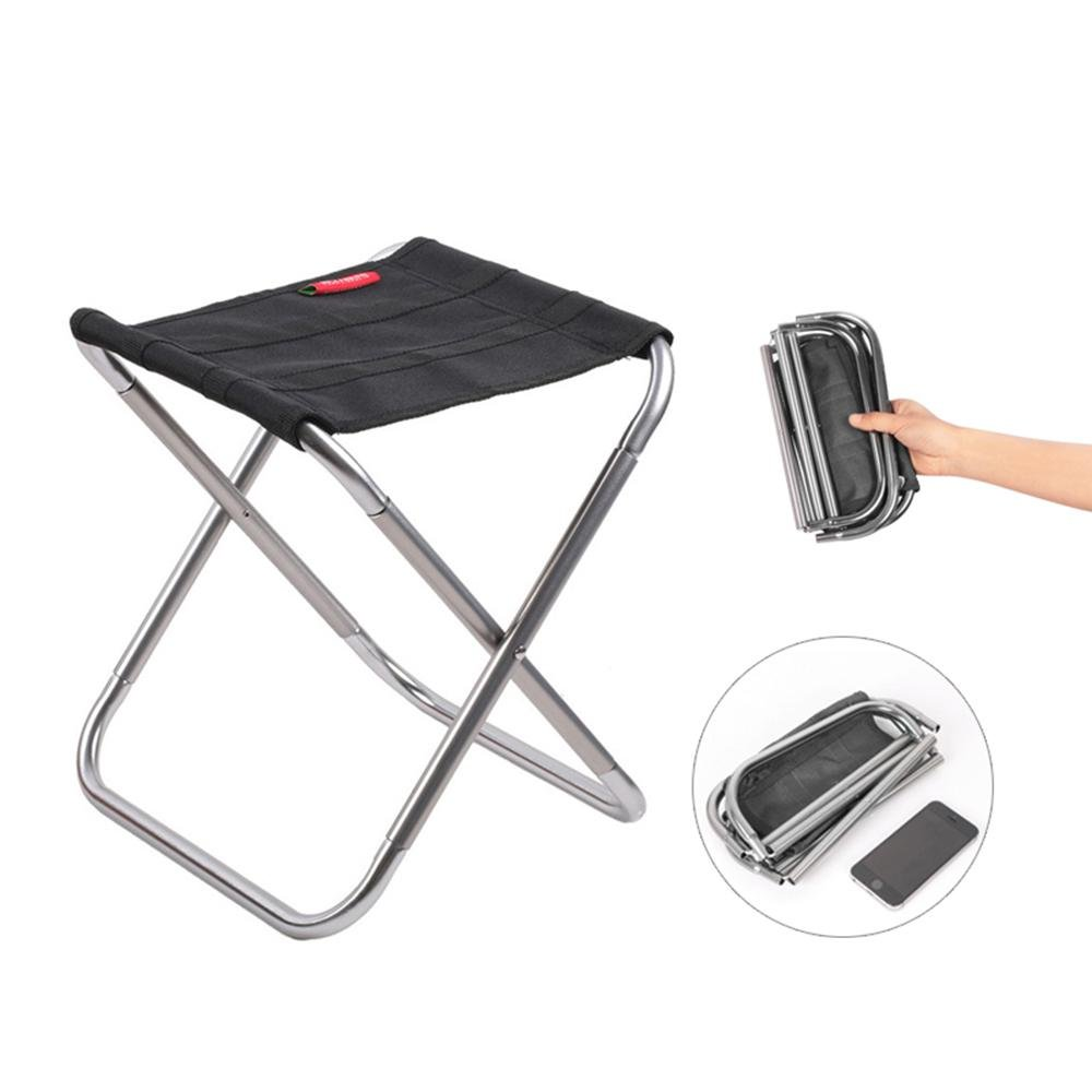Ultralight Heavy Duty Camping Chair Seat for Fishing Hiking Camping Travel Beach Picnic Mini Portable Folding Camp Chair Slacker Stool with Carry Pouch Hold Up to 75 Kg//170 Lbs Aolvo Camp Stool