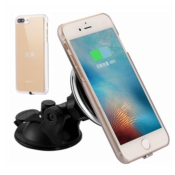 Magnético Inalámbrico Cargador de coche Kit para iPhone 7 ...