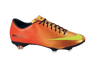 best service 3131f 12a28 Nike Mercurial Vapor IX FG - Chaussures de Foot OrangeJaune Fluo - taille 7