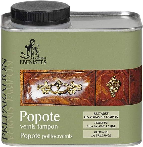 Popote esmalte antiguo, 500 ml – Los antiguos ébénistas
