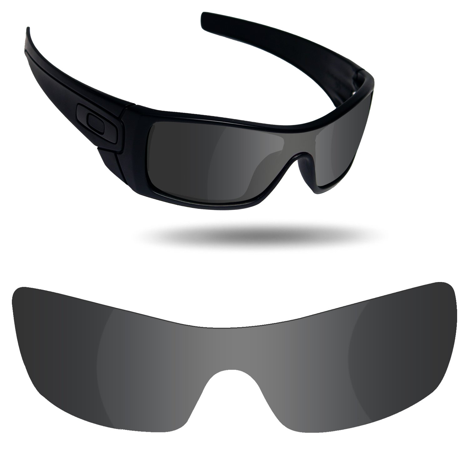 Fiskr Anti-Saltwater Replacement Lenses for Oakley Batwolf Sunglasses - Various Colors by Fiskr