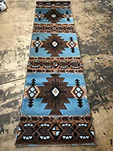 Amazon Com South West Native American Area Runner Rug
