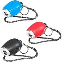 Blesiya 3Pcs Digital Portable Mini LED Projection Clock Lamp Red Light Keychain Gift