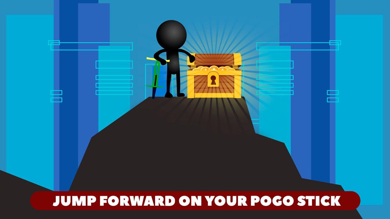 Stickman Pogo Stick Jumper Crash Test: Bouncing Ninja ...