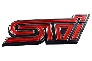 Amazon.com: 2011 – 2012 Subaru Impreza STI Rejilla Placa OEM ...