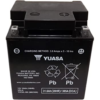 Yuasa (YUAM6230XPW) YIX30L-BS-PW Sealed Battery