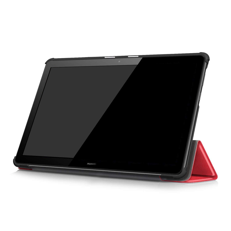 Pellicola Protettiva Schermo e Pennino Stilo Incluso Custodia con Tastiera Starter Kit Huawei MediaPad T5 10 Tablet Smart Case