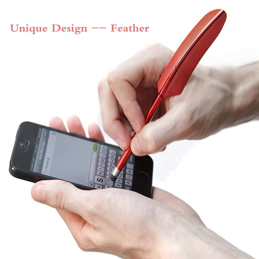 Casa de Dios 5pcs Feather Design Stylus Pens Universal Touch Screen Stylus Pen Compatible con Pantallas t/áctiles capacitivas Celulares Tableta para Mujeres Hombres Regalo por TheBigThumb