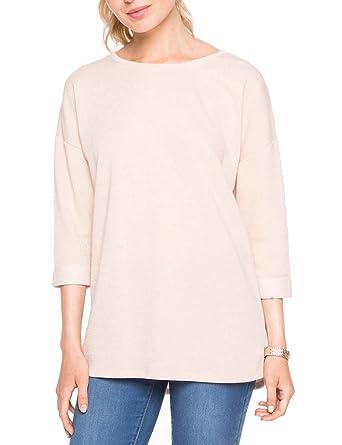 Cache Cache, Camiseta con Mangas 3/4 Para Mujer, Marrón ...