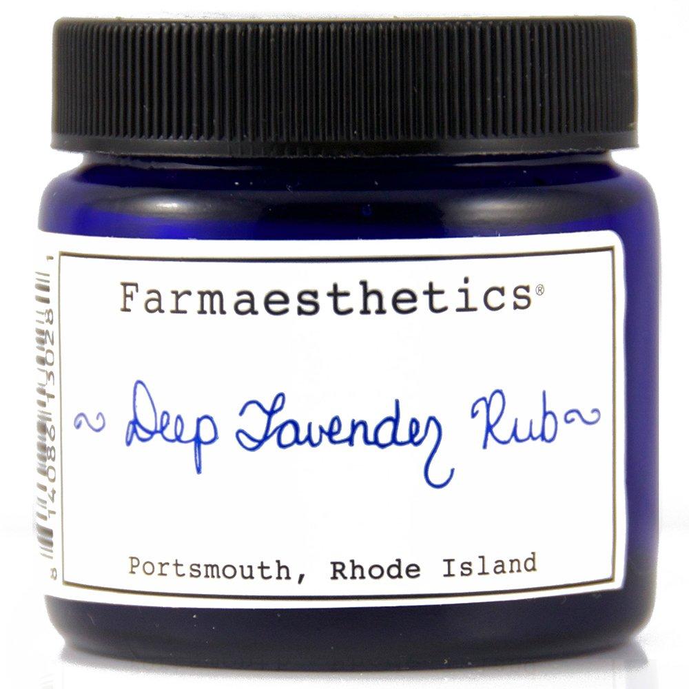 Farmaesthetics Deep Lavender Rub (Chest, Neck, Hands and Feet) 1.5 oz by Farmaesthetics