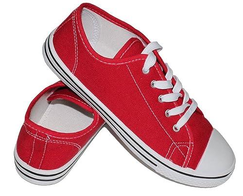 Nuevo Dama Mujer Chicas Plano Lace-UP Zapatos DE Tenis Zapatillas Lona Moda Gimnasio Entrenadores: Amazon.es: Zapatos y complementos