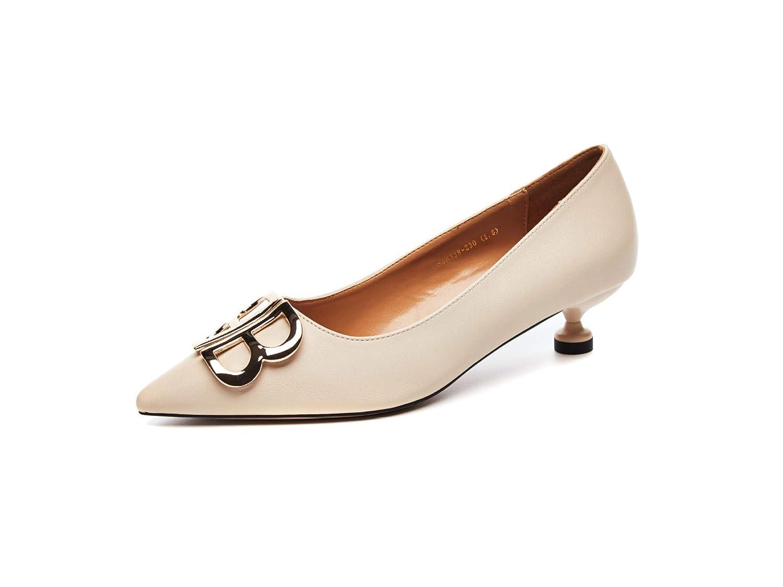 Yukun Yukun Yukun Schuhe mit hohen Absätzen Herbst Damenschuhe Herbst Damenschuhe Plaid Mode Retro Short Mit Spitzen Flachen Mund Weiblich 2652d6