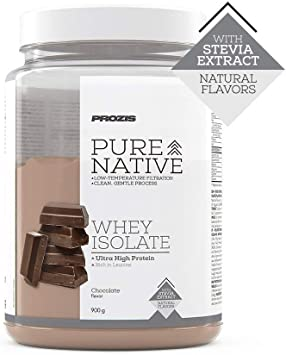 Prozis Natural Pure Native Whey Isolate 900 g Chocolate ...