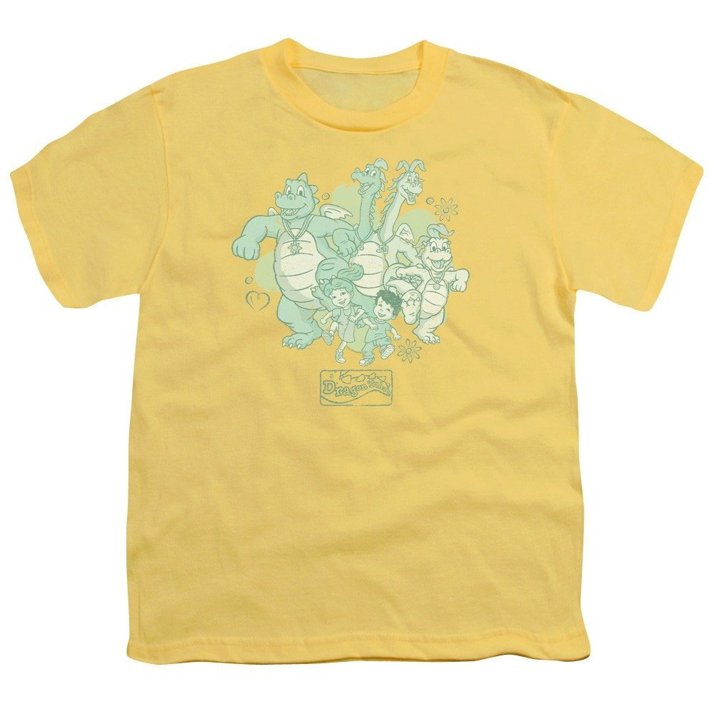 Group Celebration Youth T-Shirt Dragon Tales
