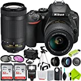 Nikon D5600 DSLR Digital Camera with Nikon 18-55mm f/3.5-5.6G Lens and Nikon 70-300mm Lens 2 Lenses Bundle