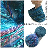 Boutique Yarn Cowl Knitting Kit Teal