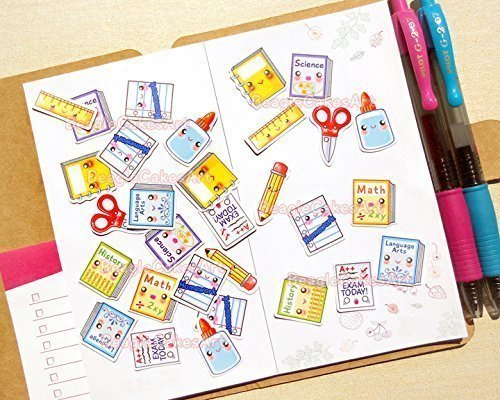 Amazon com: Back to School Stickers - Stickers for Planner