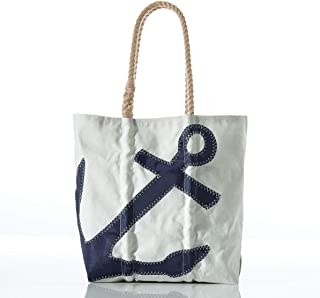 product image for Anchor Tote Recycled Sail Cloth with Rope Handles