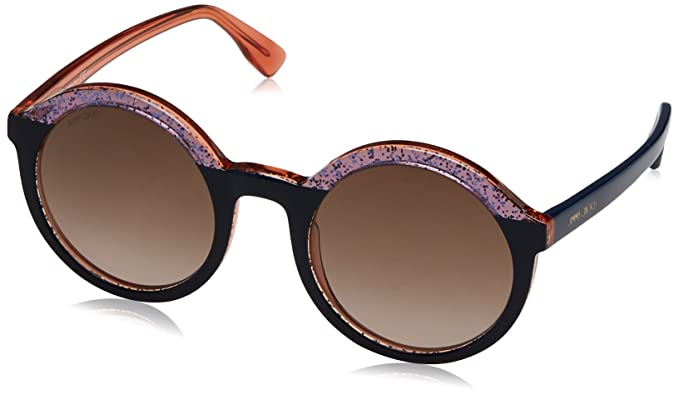 Jimmy Choo Damen Sonnenbrille Glam/S J6 Otg, Blau (Multic Bluette/Brown Sf), 52