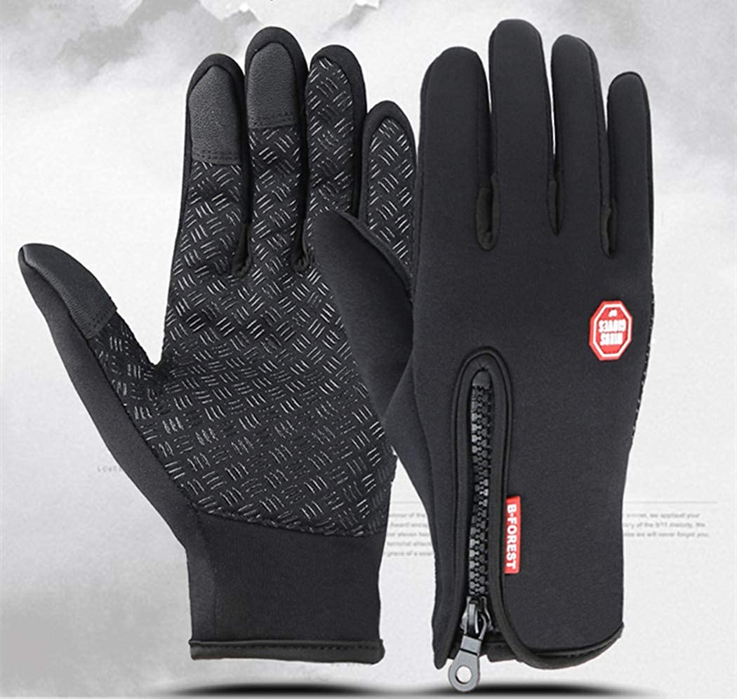 Toasis Waterproof Warm Gloves for Man and Women Touch Screen Sport Gloves for Cycling Fishing Riding and Other Outdoor Sports
