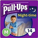Huggies Pull Ups Night Time Potty Size Medium Training Pants Boys, 10 to 18 kg
