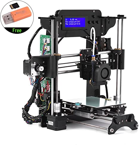 TRONXY TRONXY XY-100 Portable Desktop 3D Printer Kit DIY Self Assembly High Precision i3 Acrylic Frame with 8GB Memory Card Support ABS/PLA/TPU/Wood ...