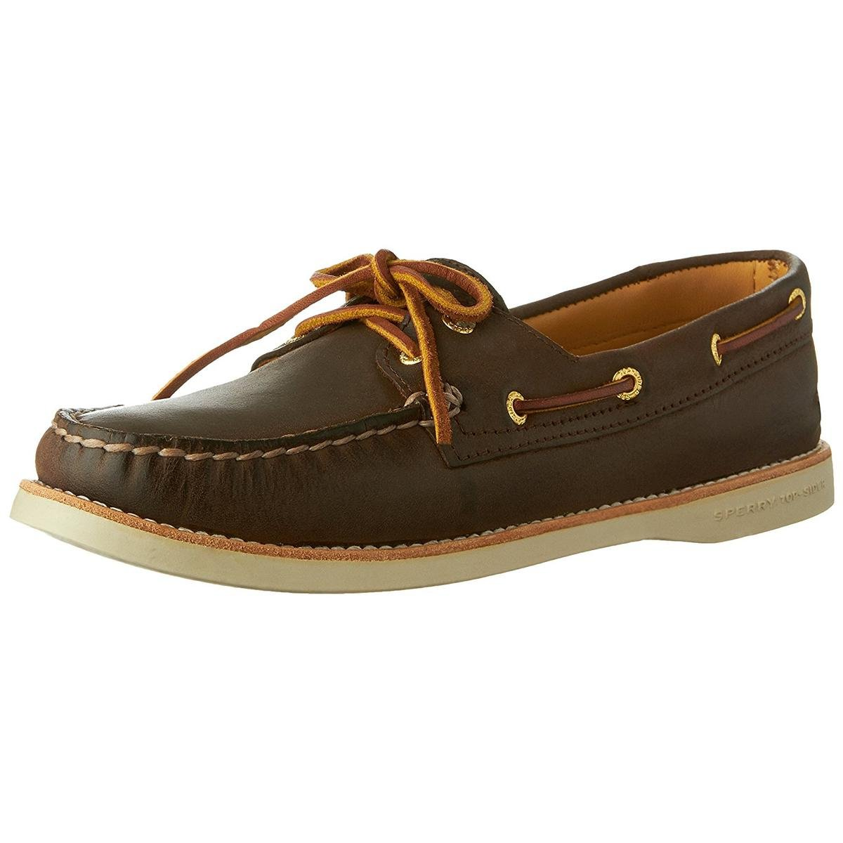 Sperry Top-Sider Women's Gold Cup Authentic Original Boat Shoe (5.5 B(M) US, Brown)