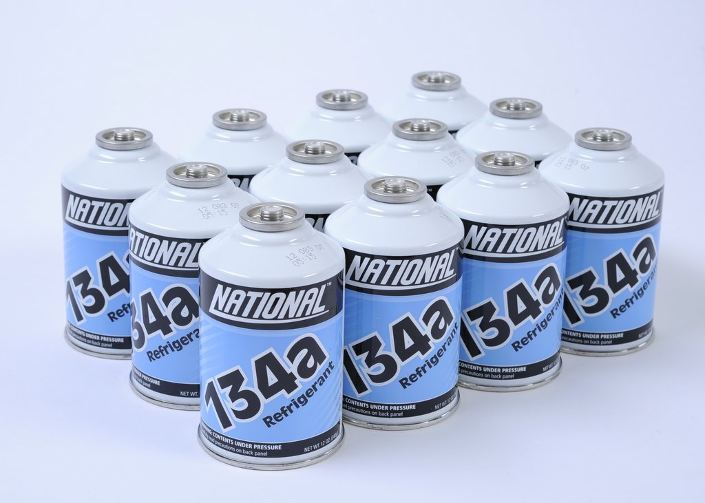 One Case - 12 Cans of R134A Refrigerant for Automotive Systems by MrZAccessories
