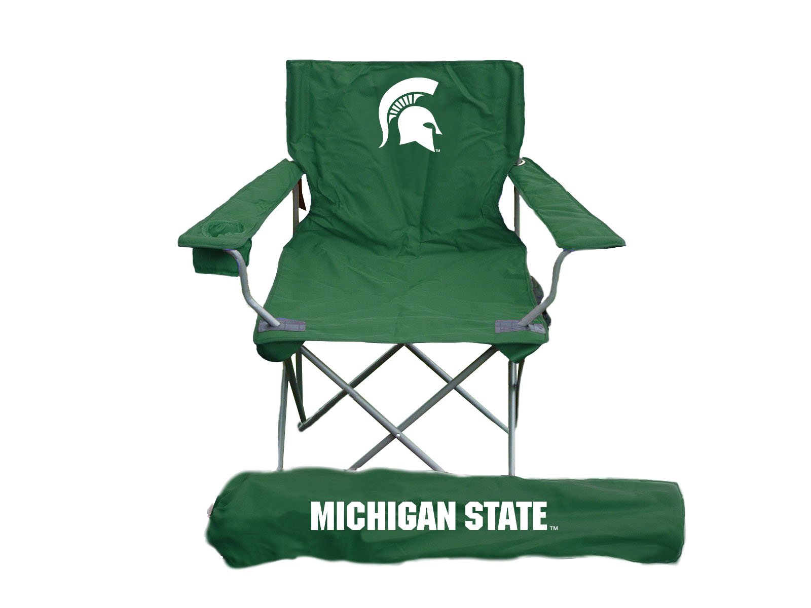 Rivalry NCAA Michigan State Spartans Folding Chair With Bag