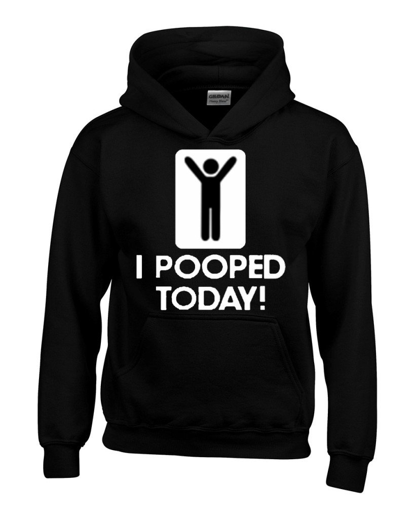 I Pooped Today Unisex Funny S Shirts
