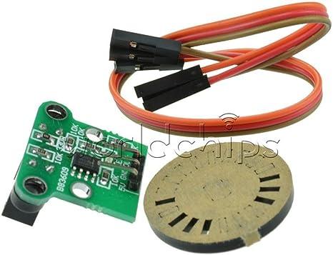 2PCS HC-020K Módulo De Medición Velocidad Doble Sensor Fotoeléctrico codificadores Kit