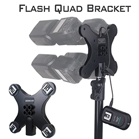 UK FLASH COLD SHOE TRIPOD BRACKET ADAPTER for NIKON and many other flashes